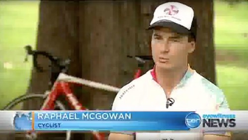 Raphael Mcgowen - Cycling to March Story